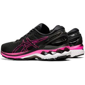 asics Gel-Kayano 27 Shoes Women, black/pink glo